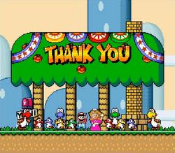 SMW Mario Toadstool