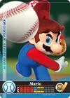 Carte amiibo Mario baseball