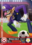 Carte amiibo Waluigi football