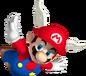 Mario Ailé dans Super Mario 64 DS