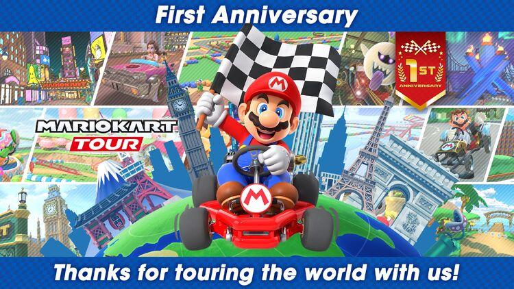 Mario Kart Tour 1st anniversary