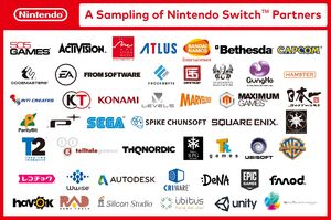 Nintendo Switch 3rd Party Entwickler