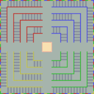 Arène Bataille 4 - MKSC (modèle inutilisé du parcours)