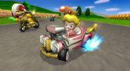 Bebe Peach en Mario Kart Wii