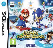 Carátula Mario & Sonic en los Juegos Olímpicos de Invierno DS
