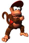 DK64 Artwork Diddy Kong