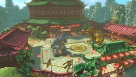 MK8D Screenshot Drachen-Palast