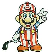 NES Open Tournament Golf Mario