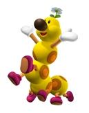 Wiggler in Mario Super Sluggers