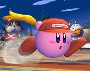 Kirby Diddy Kong SSBB