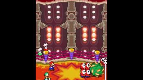 Mario and Luigi Bowser's Inside Story - VS Bowser X
