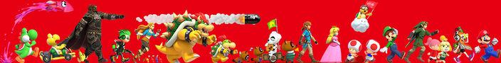 Nintendo Tokyo персонажи