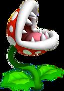 Piranha Plant Artwork (Super Mario 3D Land)