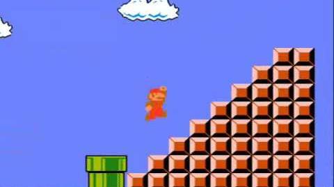 CVG - Saltando la Bandera del Mundo 1-1 en Super Mario Bros