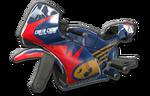Corps Sport GP rouge bleu