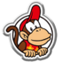MKT-Badge Diddy Kong