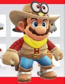 Mario cow boy