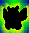 SPM Screenshot Dunkel-Para-Gumba Fangkarte