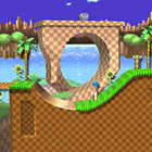 SSBB Sprite Green Hill Zone