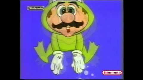 Super Mario Bros 3 France Tv Commercial.