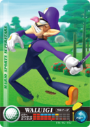 Carte amiibo Waluigi golf