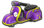 Corps Scooter violet
