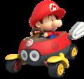 MK8 Artwork Baby Mario