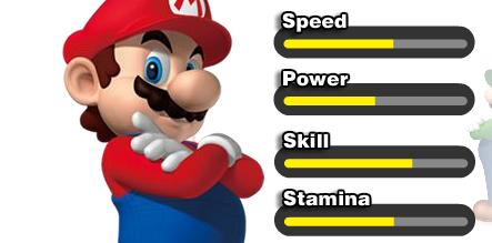 Mario-Stats