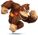 SSB4 Artwork Donkey Kong