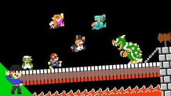 All-Star Challengers take on BOWSER! 4
