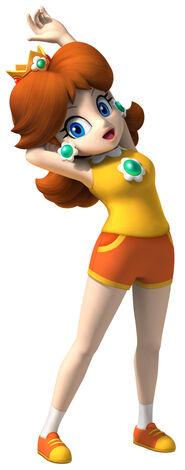 Daisy somriu