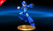 Mega man Smash Bros Trophy