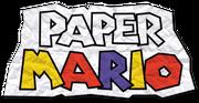 Paper Mario Logo