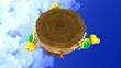 SMG2 Screenshot Riesen-Koopas