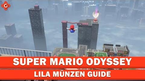 Super Mario Odyssey- Alle Sammelobjekte (lila Münzen - Cityland) - Locations Guide