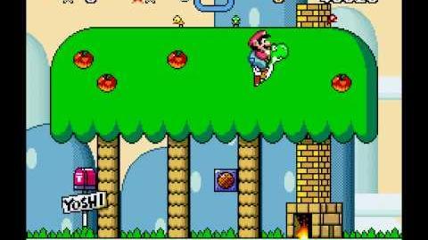 Super Mario World - Yoshi's Secret Level