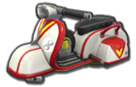 Corps Scooter blanc