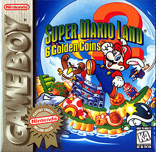 Super Mario Land 2: 6 Golden Coins | MarioWiki | FANDOM