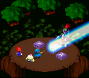 SMRPG Screenshot Geno Strahl