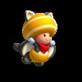 Toad Amrillo Ardilla voladora
