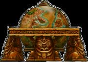 WLTSD Artwork Antiker Globus