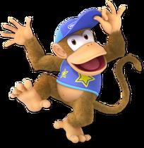 Art Diddy Kong bleu Ultimate