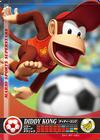 Carte amiibo Diddy Kong football