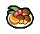Champis con frutas