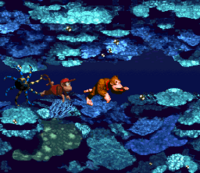 DKC Screenshot Croctopus Safari