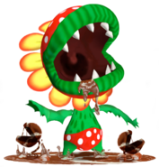 Flora Piranha Super Mario Sunshine