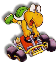 Koopa Artwork (Super Mario Kart)