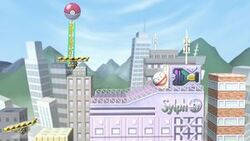 SSBU Saffronia City