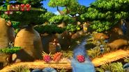 DKCTF Screenshot 3-2 Baobab-Boogie (Nähe 5. Puzzelteil)