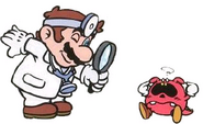 DM Artwork Dr. Mario & Roter Virus